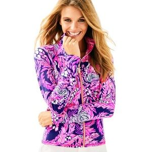 Lily Pulitzer Luxletic Jungle In Here Kapri Jacket
